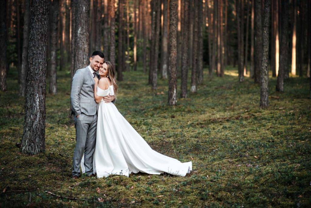 vestuvių fotosesija Vilniuje